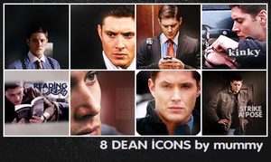 8 Dean Icons :5: by mummy16