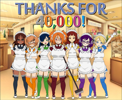 Thank You for 40,000 Views! by EzraMorris