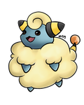 Mareep by LordChatta