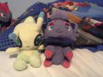 Two friends together by ChristheZorua