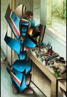 Thundercracker by iennisita