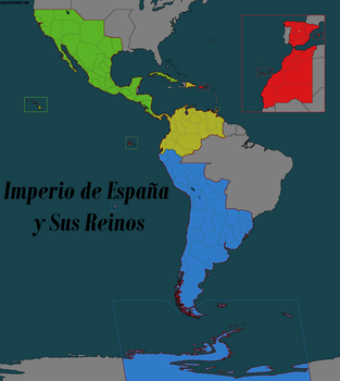 The Great Spanish Empire by moxn
