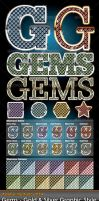 Gems Illustrator Styles by gruberdesigns