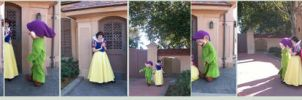 WDW Character:Snow White Dopey by wilterdrose-stock