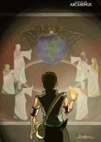 Tales of the Arcanimus - Mural by EagleOfTheStar