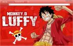 One Piece Chrome Theme: Monkey D Luffy (Revised) by yohohotralala
