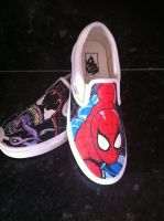Spiderman Venom Vans 3 by VeryBadThing