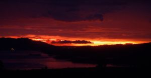 Fire Sky by irrationalrationale