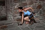 Lara Croft - on the alert by TanyaCroft
