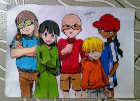 KND ESTILO ANIME by powre