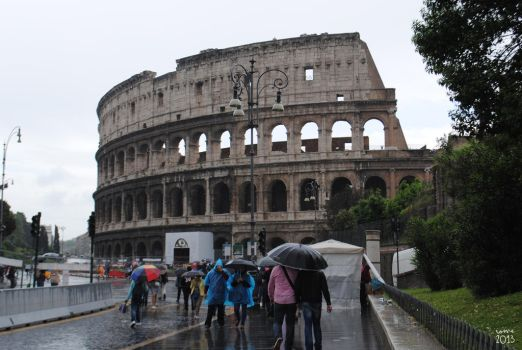 Colosseo by ilabernie