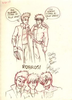 Offmodel RObros by neilak20