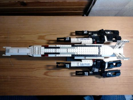 LEGO Normandy SR2 above by Beezqp2