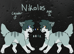 .:OC:. Nikolas Reference by kass-the-kitten
