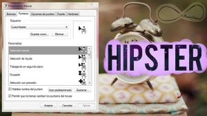 Cursor Hipster by NoemiTutos