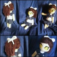 Little Sister amigurumi from BioShock by ForgottenMermaid