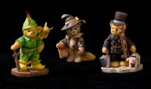 Cherished Teddies by archaeopteryx-stocks