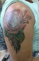 Rose cover up by KlosMagda