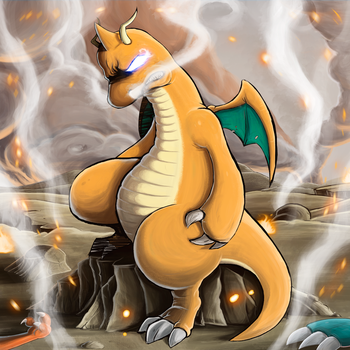 Dragonite - Proyecto Pokedex Chile by AfterWars