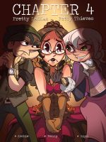Lady Penny vs Anya and Archie by Curly-Artist
