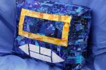 Soundwave pillow 1, right view by rageai
