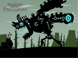 Shadow of the Patapon by canecodesign