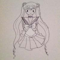Adventure Time Sailor Moon by MaggiiSpacePanda