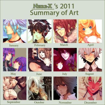 2011 art summary by Neire-X