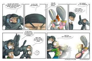 Gears of War strip by ivanev