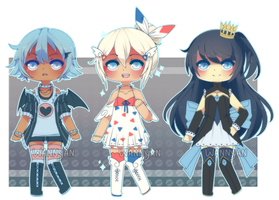[CLOSED] Pokegijinka Adopts 008 by WanNyan