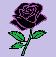 Purple Rose by ElviraTepes