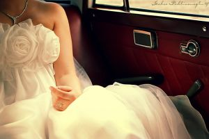 the wedding car by Anahita