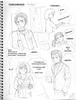 Torchwood Doodlez by karlarei2003