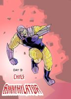 day 9 Chief Annihilator by wildcats25