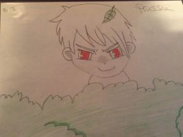 The Awesome Prussia....in chibi form by brookiet77
