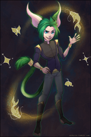 Commission:  Wildstar Aurin Fenwick by andarix
