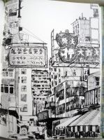Hong Kong by Tifaerith