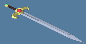 Marth's Falchion by Skyblufox