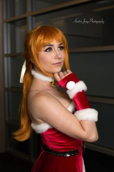 Festive Kasumi from Dead or Alive - by Maru by Shroker