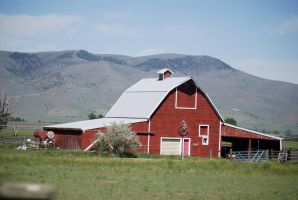 Red barn ranching by MNgreen