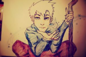 Cold person with warm heart / Jack Frost by DandelinFairy