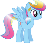 Crystal Pony Rainbow Dash by MysteriousKaos