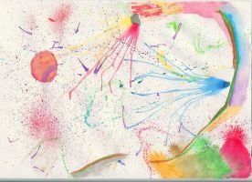 abstract watercolor - 2 by Zerkatres