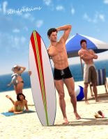 Surfista-Surfer (light updated) by sithlordsims
