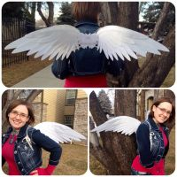 White Dove Wings by ThePinkPoudo