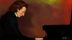 Frederic Chopin by D-Castillo