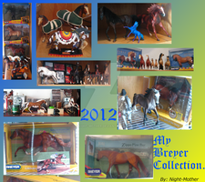 My Breyer Horse Collection 2012 by night-mother