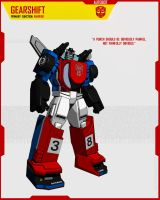 AUTOBOT GEARSHIFT by F-for-feasant-design