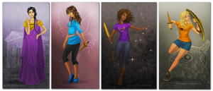 Heroines of Olympus by juliajm15