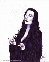 Morticia by ChristinaMandy